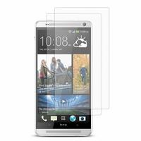 HTC One Max/ Dual Sim: Lot / Pack de 2x Films de protection d'écran clear transparent