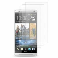 HTC One Max/ Dual Sim: Lot / Pack de 3x Films de protection d'écran clear transparent