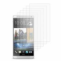 HTC One Max/ Dual Sim: Lot / Pack de 5x Films de protection d'écran clear transparent