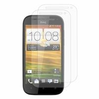 HTC One SV/ T528T CDMA: Lot / Pack de 2x Films de protection d'écran clear transparent