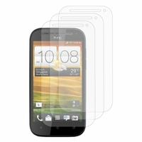 HTC One SV/ T528T CDMA: Lot / Pack de 3x Films de protection d'écran clear transparent