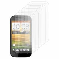 HTC One SV/ T528T CDMA: Lot / Pack de 5x Films de protection d'écran clear transparent