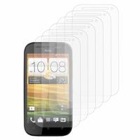 HTC One SV/ T528T CDMA: Lot / Pack de 6x Films de protection d'écran clear transparent