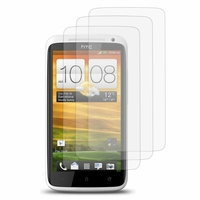 HTC One X/ X+/ XL/ XT: Lot / Pack de 3x Films de protection d'écran clear transparent