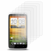 HTC One X/ X+/ XL/ XT: Lot / Pack de 5x Films de protection d'écran clear transparent