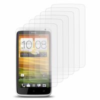 HTC One X/ X+/ XL/ XT: Lot / Pack de 6x Films de protection d'écran clear transparent
