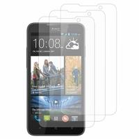 HTC Desire 516 dual sim: Lot / Pack de 3x Films de protection d'écran clear transparent