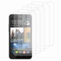 HTC Desire 516 dual sim: Lot / Pack de 5x Films de protection d'écran clear transparent