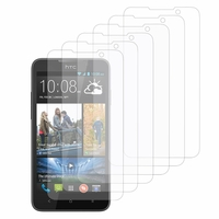 HTC Desire 516 dual sim: Lot / Pack de 6x Films de protection d'écran clear transparent