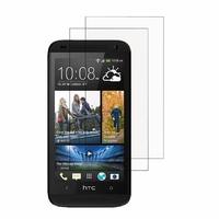 HTC Desire 601 Zara/ Dual Sim: Lot / Pack de 2x Films de protection d'écran clear transparent