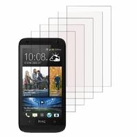 HTC Desire 601 Zara/ Dual Sim: Lot / Pack de 5x Films de protection d'écran clear transparent