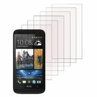 HTC Desire 601 Zara/ Dual Sim: Lot / Pack de 6x Films de protection d'écran clear transparent
