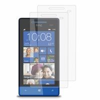 HTC Windows Phone 8S: Lot / Pack de 2x Films de protection d'écran clear transparent