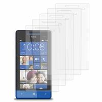 HTC Windows Phone 8S: Lot / Pack de 5x Films de protection d'écran clear transparent