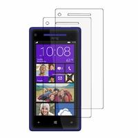 HTC Windows Phone 8X: Lot / Pack de 2x Films de protection d'écran clear transparent