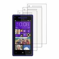 HTC Windows Phone 8X: Lot / Pack de 3x Films de protection d'écran clear transparent