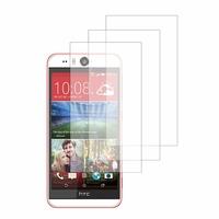 HTC Desire Eye: Lot / Pack de 3x Films de protection d'écran clear transparent