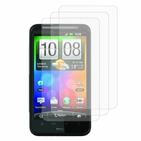 HTC Desire HD/ Ace G10: Lot / Pack de 3x Films de protection d'écran clear transparent