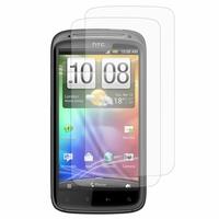 HTC Sensation G14/ Pyramid 4G: Lot / Pack de 2x Films de protection d'écran clear transparent