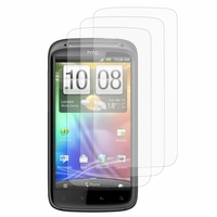 HTC Sensation G14/ Pyramid 4G: Lot / Pack de 3x Films de protection d'écran clear transparent