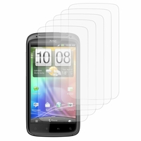 HTC Sensation G14/ Pyramid 4G: Lot / Pack de 5x Films de protection d'écran clear transparent