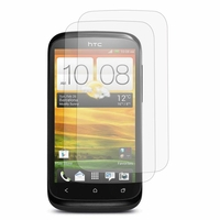 HTC Desire X T328E/ G7X: Lot / Pack de 2x Films de protection d'écran clear transparent