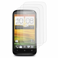 HTC Desire X T328E/ G7X: Lot / Pack de 3x Films de protection d'écran clear transparent
