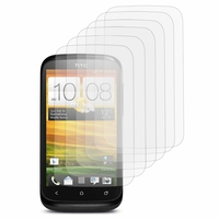 HTC Desire X T328E/ G7X: Lot / Pack de 6x Films de protection d'écran clear transparent