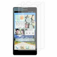 Huawei Ascend G740/ Orange Yumo: Lot / Pack de 2x Films de protection d'écran clear transparent