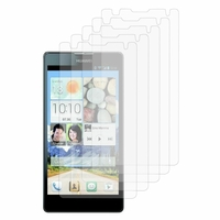 Huawei Ascend G740/ Orange Yumo: Lot / Pack de 5x Films de protection d'écran clear transparent
