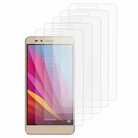 Huawei Honor 5X/ Honor X5/ Huawei GR5: Lot / Pack de 5x Films de protection d'écran clear transparent
