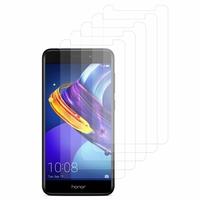 """Huawei Honor 6C Pro 5.2""""/ Honor V9 Play: Lot / Pack de 5x Films de protection d'écran clear transparent"""