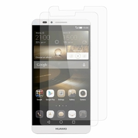 Huawei Ascend Mate7/ Mate 7 Monarch edition: Lot / Pack de 2x Films de protection d'écran clear transparent