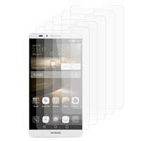 Huawei Ascend Mate7/ Mate 7 Monarch edition: Lot / Pack de 5x Films de protection d'écran clear transparent