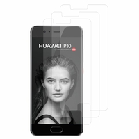 "Huawei P10 5.1"" (non compatible Huawei P10 Plus/ P10 Lite): Lot / Pack de 3x Films de protection d'écran clear transparent"