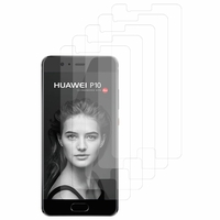 "Huawei P10 5.1"" (non compatible Huawei P10 Plus/ P10 Lite): Lot / Pack de 5x Films de protection d'écran clear transparent"