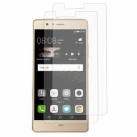 Huawei P9 lite/ G9 Lite (non compatible Huawei P9/ P9 Plus): Lot / Pack de 2x Films de protection d'écran clear transparent