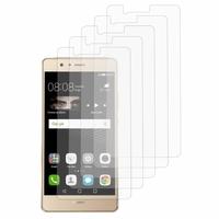 Huawei P9 lite/ G9 Lite (non compatible Huawei P9/ P9 Plus): Lot / Pack de 5x Films de protection d'écran clear transparent