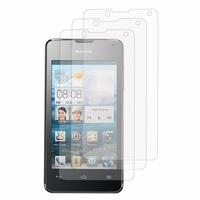 Huawei Ascend Y300: Lot / Pack de 3x Films de protection d'écran clear transparent
