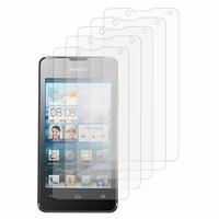 Huawei Ascend Y300: Lot / Pack de 5x Films de protection d'écran clear transparent