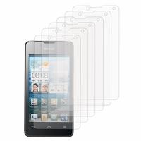 Huawei Ascend Y300: Lot / Pack de 6x Films de protection d'écran clear transparent