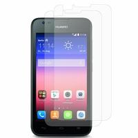 Huawei Ascend Y550: Lot / Pack de 2x Films de protection d'écran clear transparent