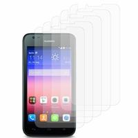Huawei Ascend Y550: Lot / Pack de 5x Films de protection d'écran clear transparent