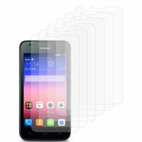 Huawei Ascend Y550: Lot / Pack de 6x Films de protection d'écran clear transparent