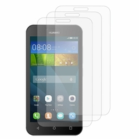 Huawei Y560/ Y5: Lot / Pack de 3x Films de protection d'écran clear transparent