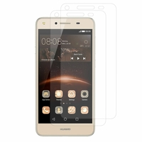 Huawei Y5II/ Y5 2/ Honor 5/ Honor Play 5/ Honor 5 Play: Lot / Pack de 2x Films de protection d'écran clear transparent