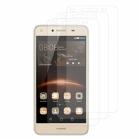 Huawei Y5II/ Y5 2/ Honor 5/ Honor Play 5/ Honor 5 Play: Lot / Pack de 3x Films de protection d'écran clear transparent