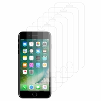 """Apple iPhone 7 Plus 5.5"""" (non compatible iPhone 7 4.7''): Lot / Pack de 6x Films de protection d'écran clear transparent"""
