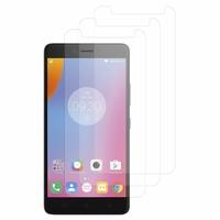 """Lenovo K6 Note 4G 5.5"""": Lot / Pack de 3x Films de protection d'écran clear transparent"""