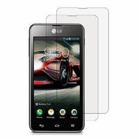 LG Optimus F5 P875 LTE: Lot / Pack de 2x Films de protection d'écran clear transparent